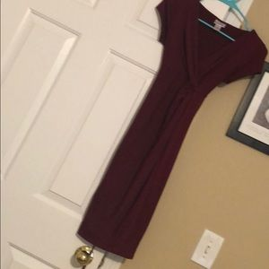 Maternity short sleeve dress